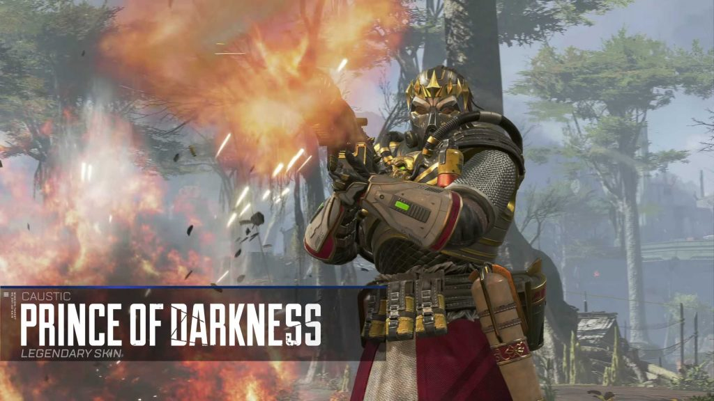 Apex Legends Season 2 Skin Prince of Darkness Caustic