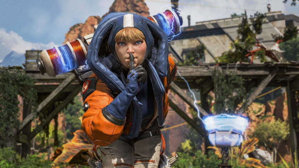 Apex Legends Wattson Shhh