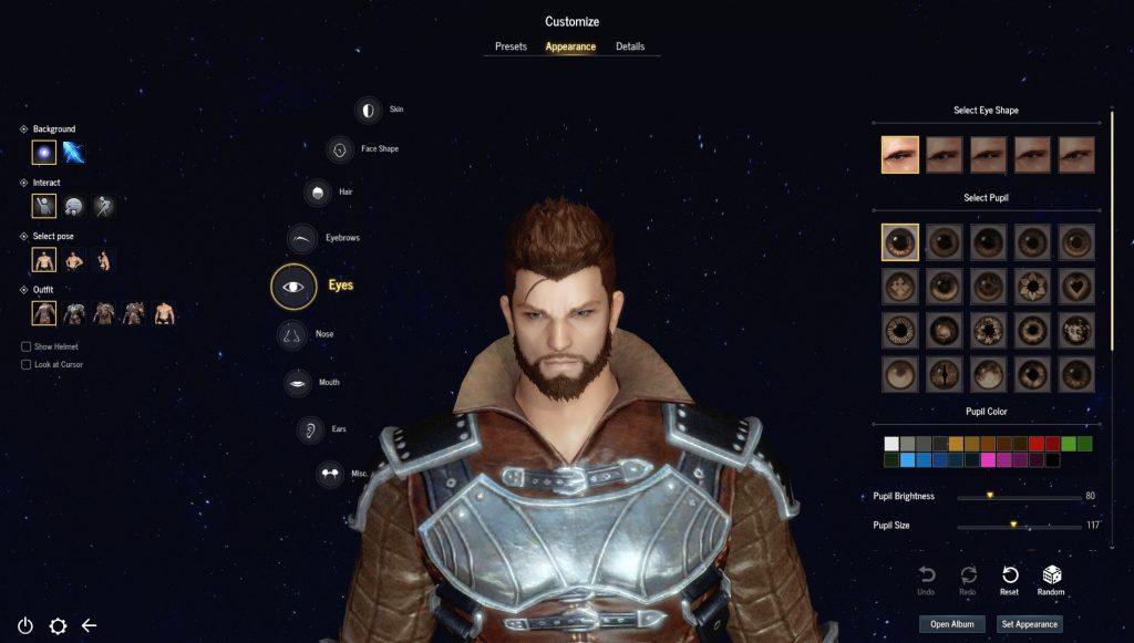 Astellia MMORPG Charakter-Editor 2
