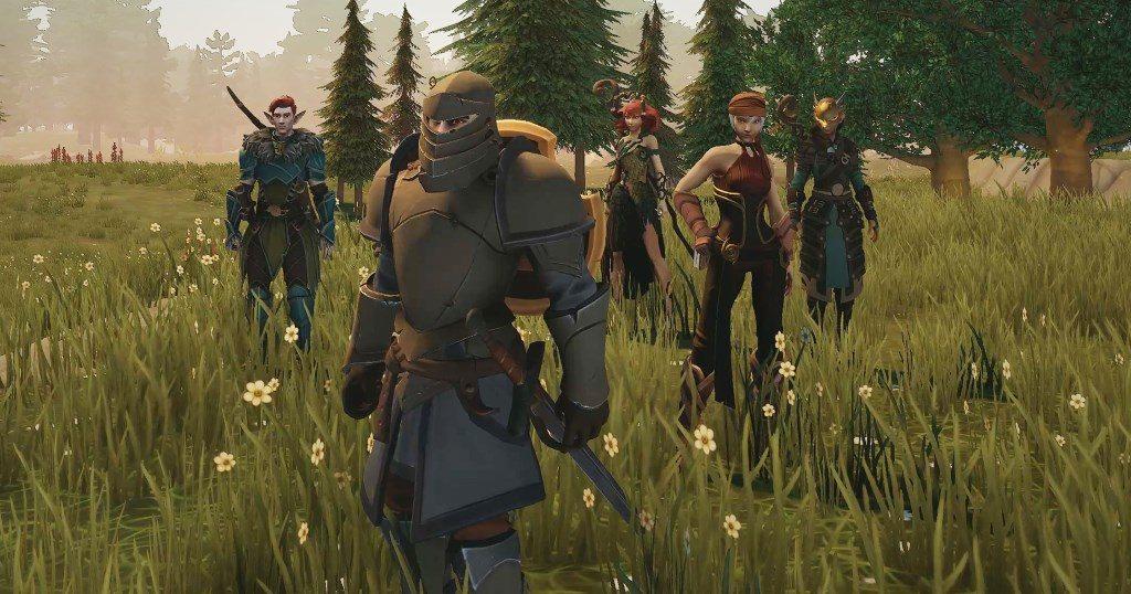 Crowfall Screenshot Party