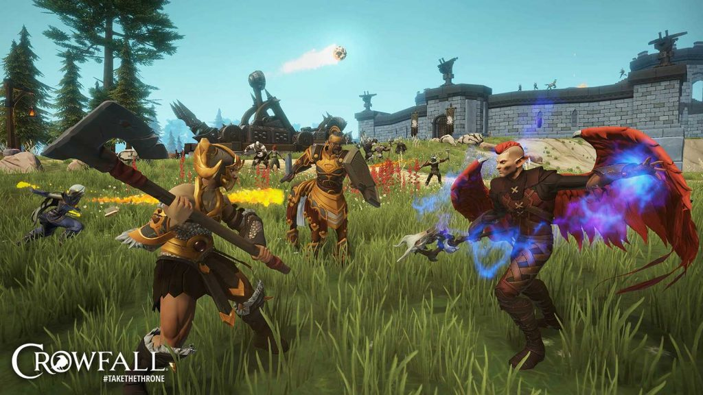 Crowfall The Fortunes of War Belagerung