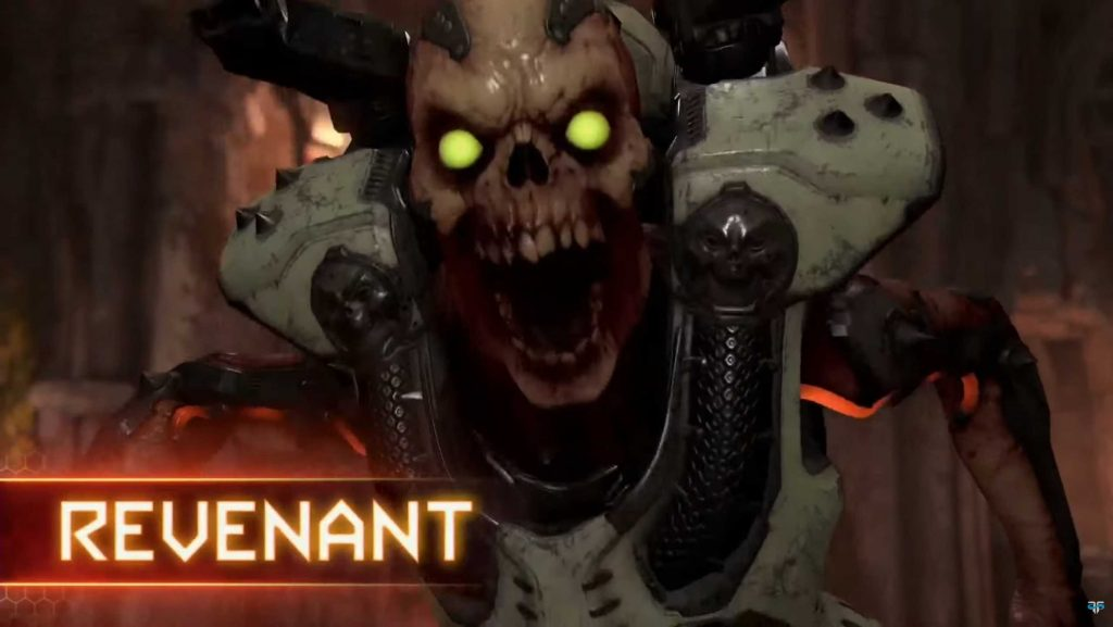 DOOM Eternal PvP Dämon Revenant