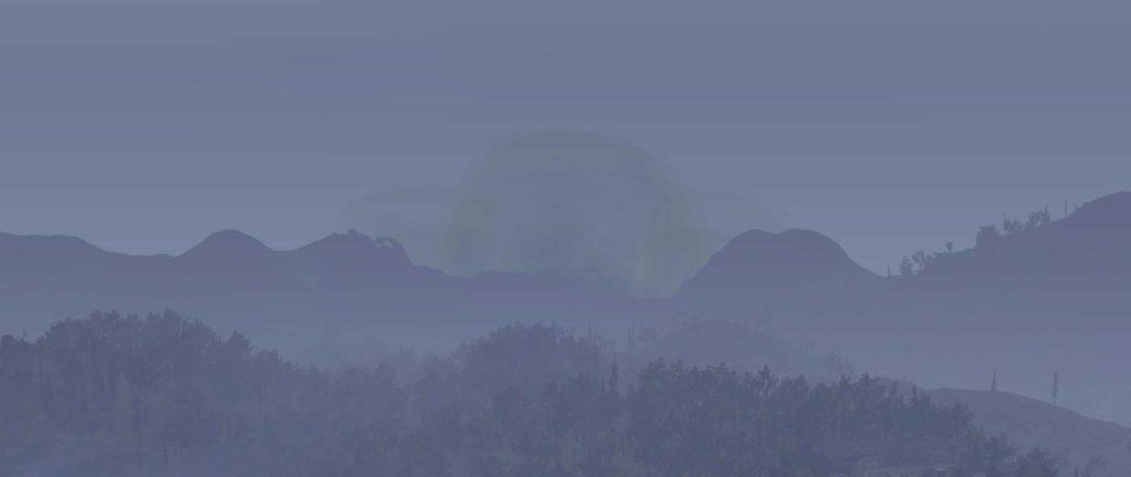 Fallout 76 Nuke Mesh Depot Explosion 1