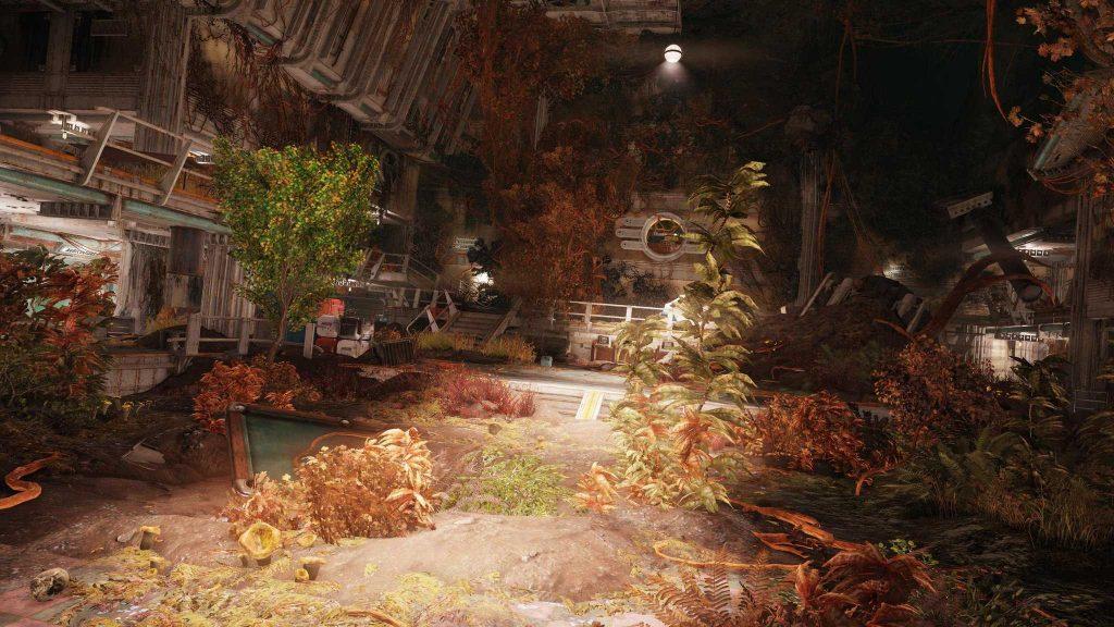 Fallout 76 Vault 94 Raid Pflanzen