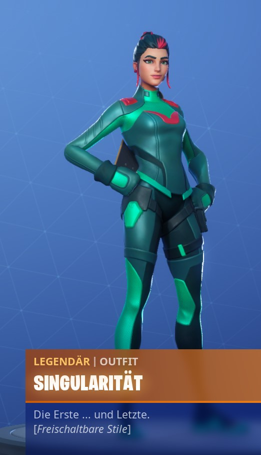 Fornite Singularität Outfit