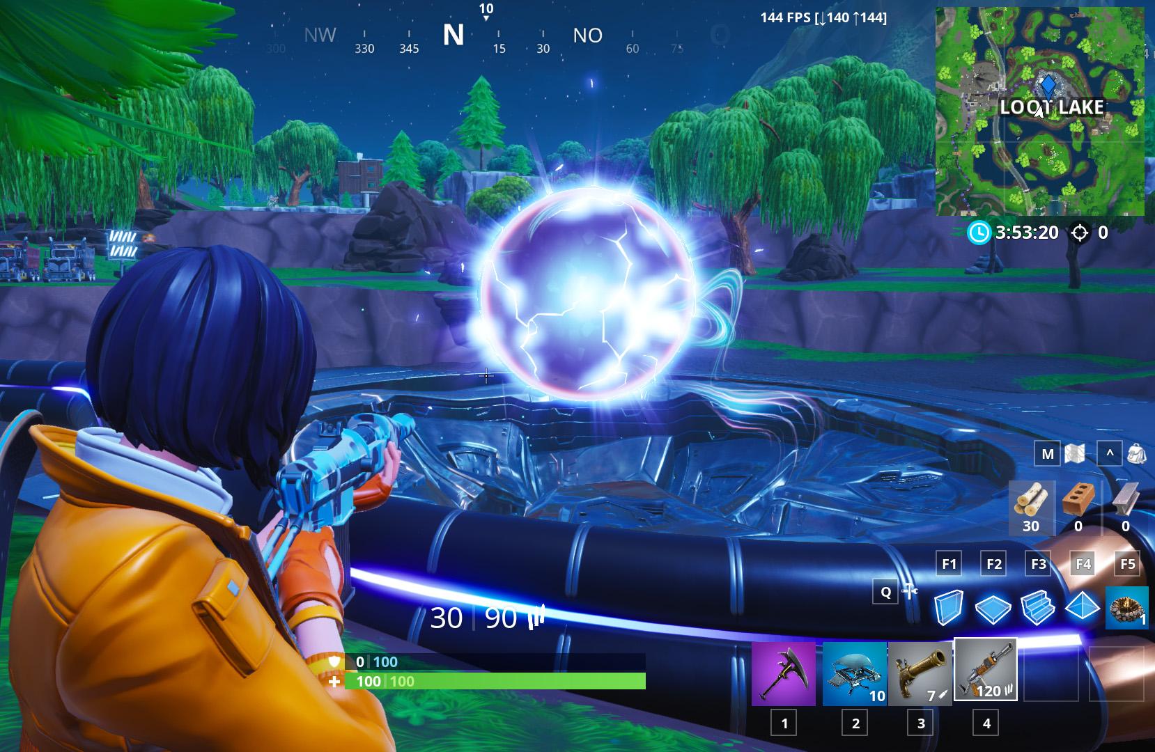 Ist das die neue Fortnite-Map? Nur kleine Änderungen nach Monster-Event