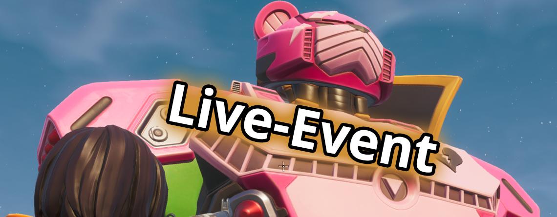 In wenigen Stunden startet das Live-Event in Fortnite – Das wissen wir bisher