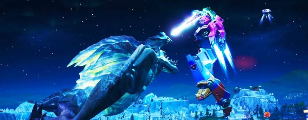 Fortnite Monster Roboter Cinematic Titel