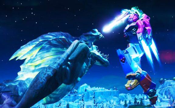 Fortnite Monster Roboter Cinematic Titel