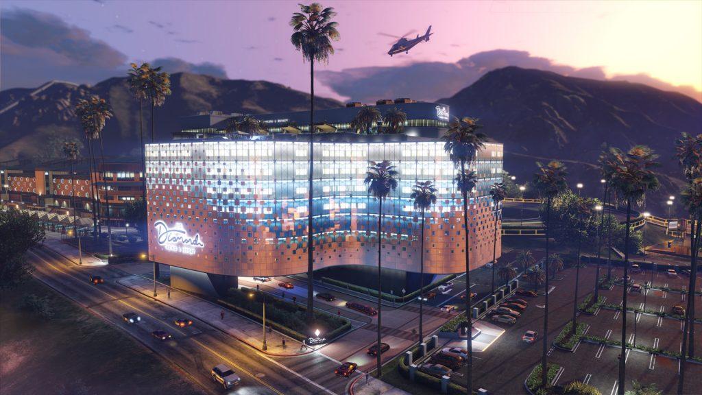 GTA Online Casino Gebäude Neu