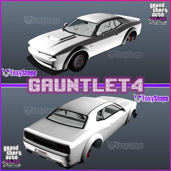 GTA Online Leak Gauntlet 4