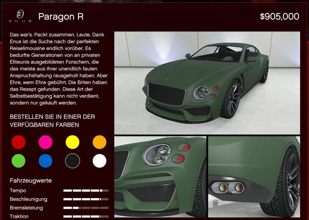 GTA Online Paragon R