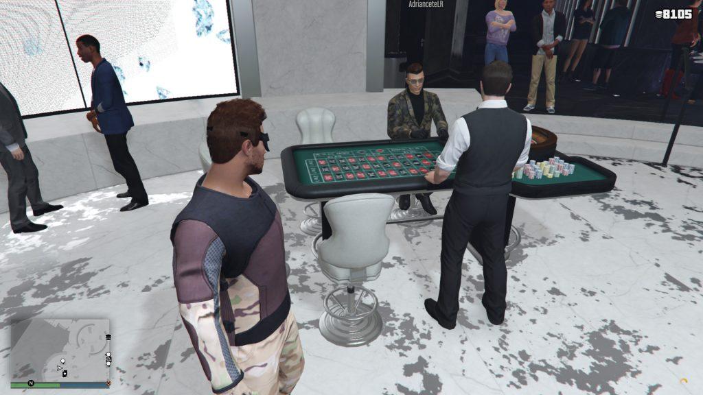 GTA Online Roulette Tisch