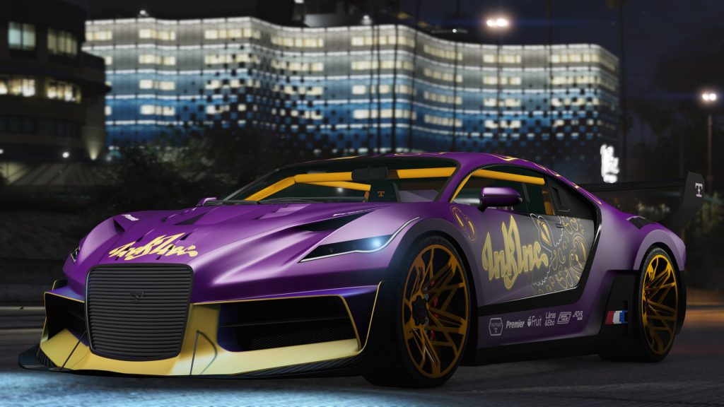 GTA Online Truffade Design Gold