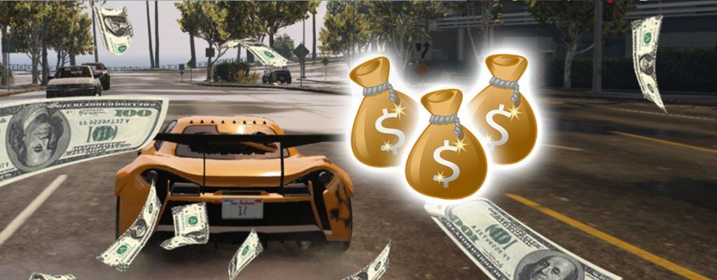 GTA Online Zeitrennen Geld Titel 3