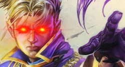 Hearthstone Anduin red eyes laser title 1140×445