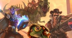 Hearthstone Explorers League Savior of Uldum heroes title 1140×445