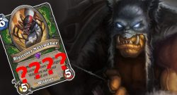 Hearthstone Hunter Questionmark Card title 1140×445