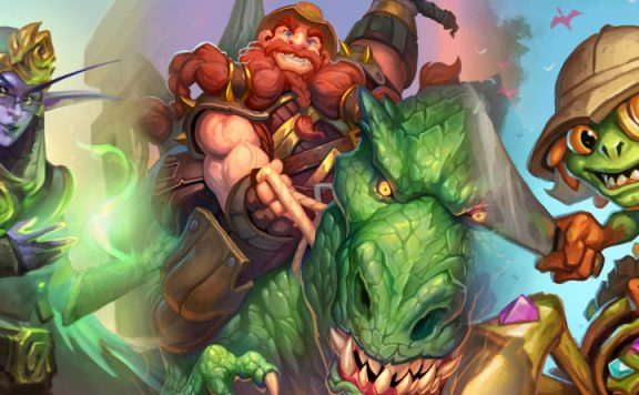 Hearthstone Uldum legendary heroes title 1140×445
