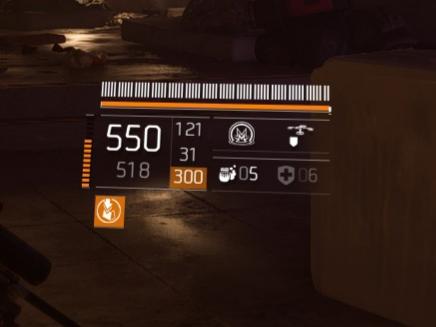 LMG-550-Schuss