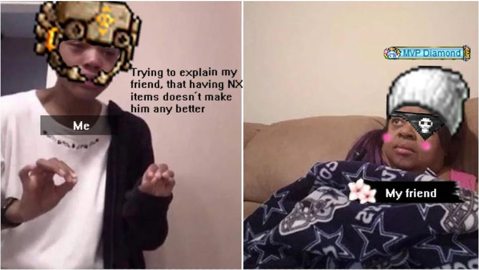 MapleStory Meme - Wenn du kein Geld für NX hast
