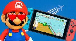 Mario Switch Flugzeug Titel
