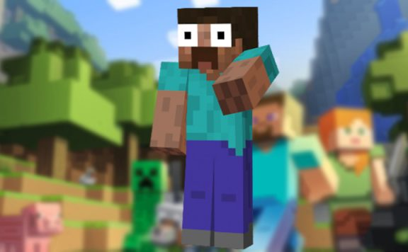Minecraft Steve Schock