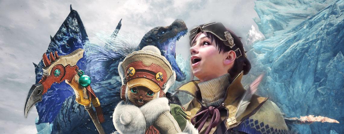 Monster Hunter World bringt mit Iceborne das, was dir noch gefehlt hat