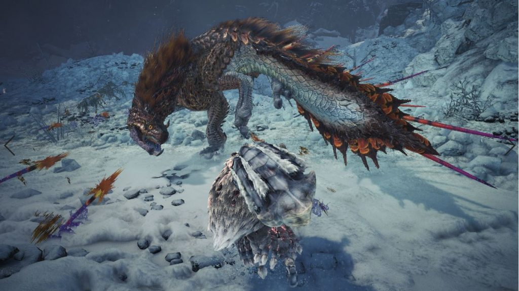 Viper-Tobi-Kadachi aus Monster Hunter World: Iceborne.
