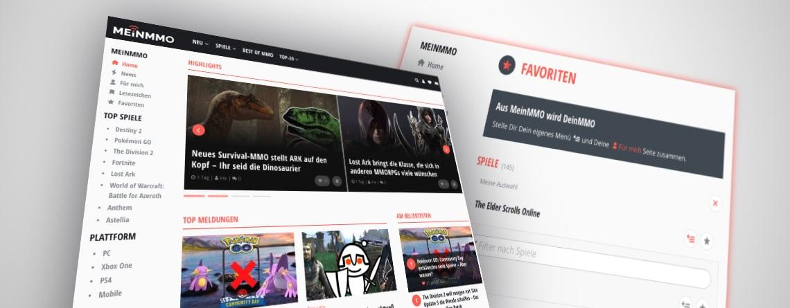 Die neue Startseite auf Mein-MMO.de – Warum hier jetzt alles anders aussieht