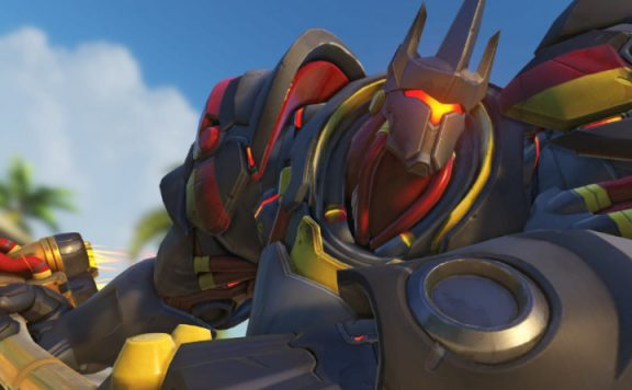 Overwatch Reinhardt Bundesadler Charge title 1140×445