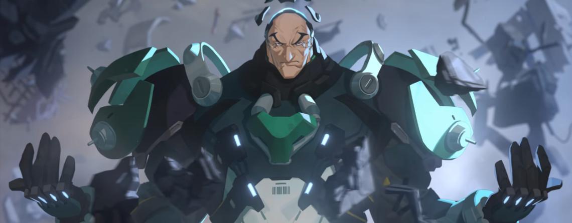 Hier ist Sigma, der neue Held von Overwatch