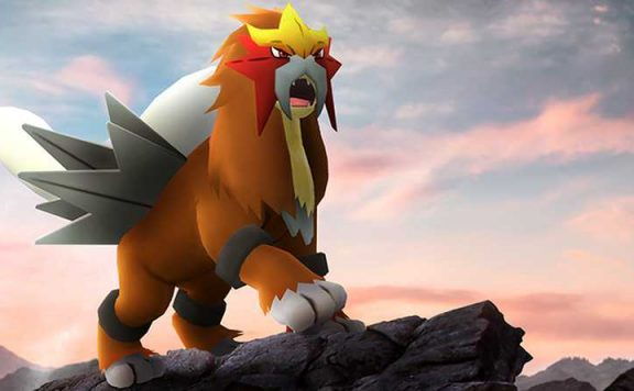 Pokemon GO Entei Titel
