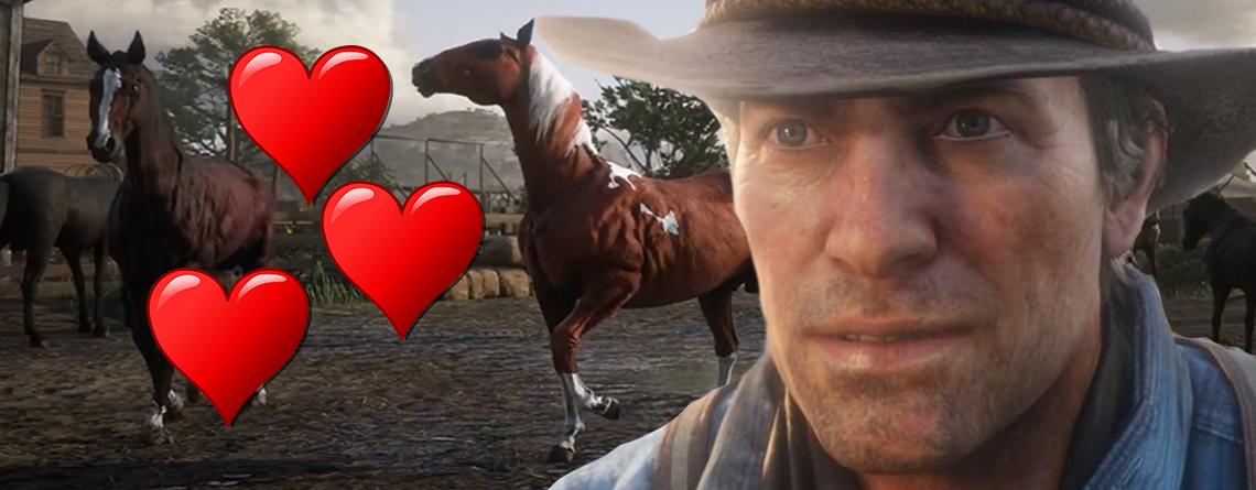 Cowboy in Red Dead Redemption 2 sprach zu sexy mit Pferd, musste erneut aufnehmen