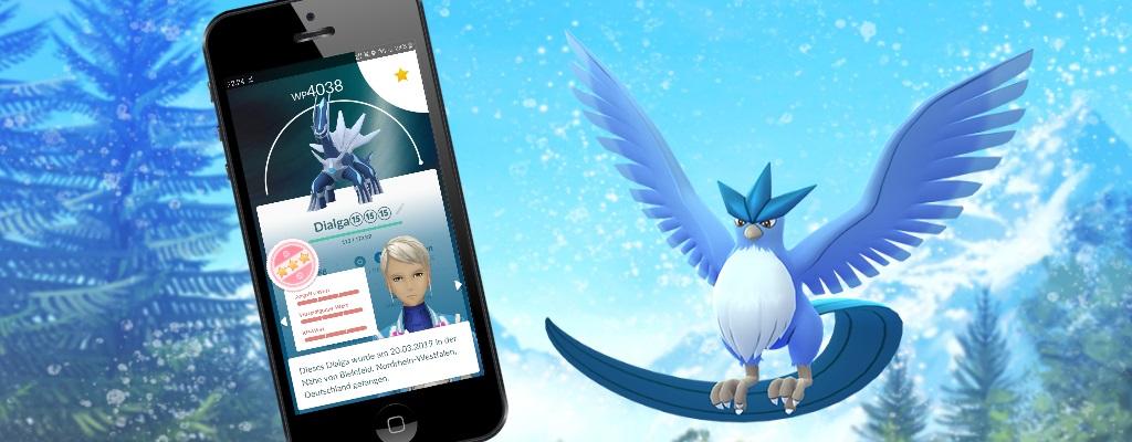 Pokémon GO: So könnt ihr innerhalb von Sekunden hunderte Pokémon bewerten