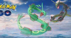 Heute startet Pokémon GO die letzte Raidstunde mit Rayquaza – Macht mit