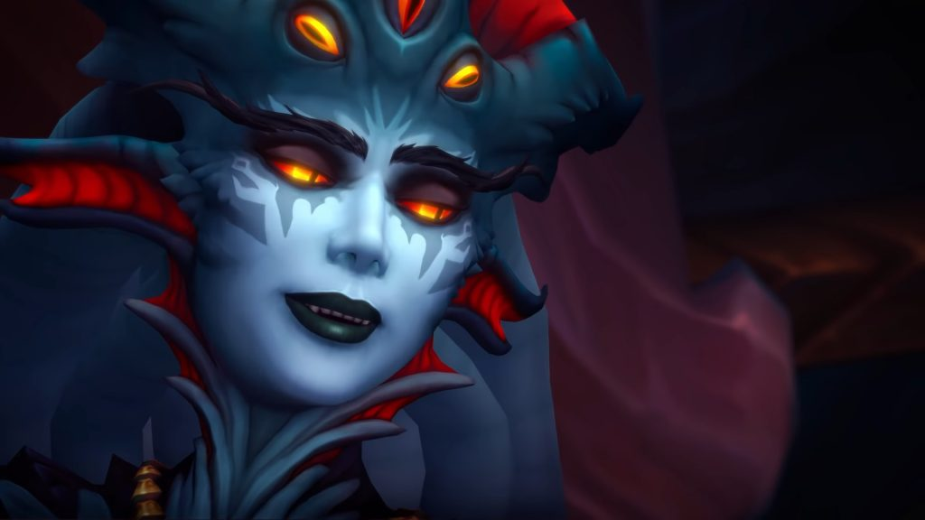 WoW Azshara Smug Face