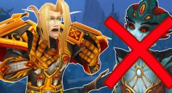 WoW Blood Elf Cry Azshara Crossed title 1140×445