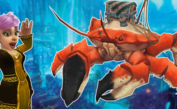 WoW Crab Mount Guide title 1140×445