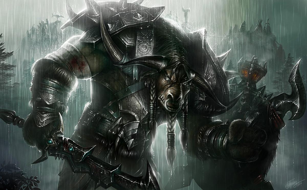 WoW Warrior Artwork