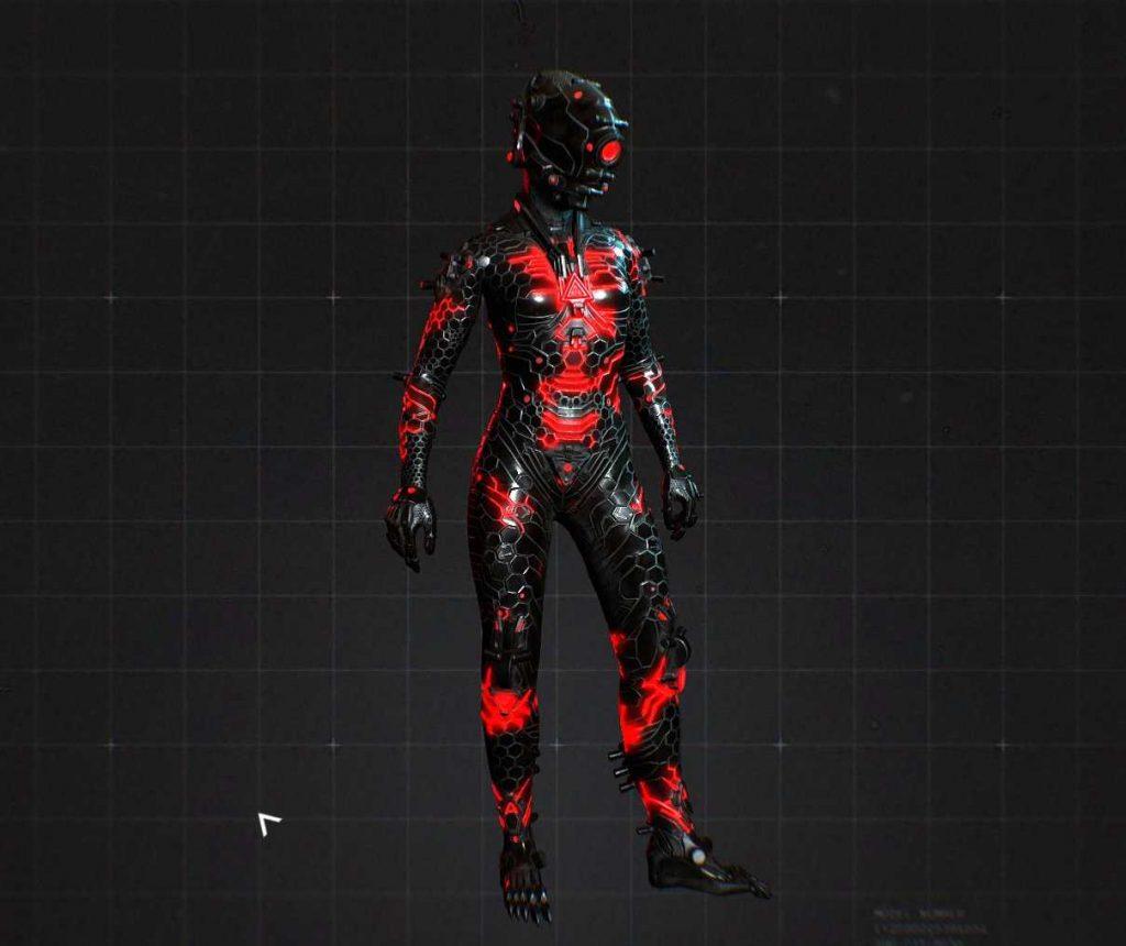 Wolfenstein Youngblood Cyborg Skin