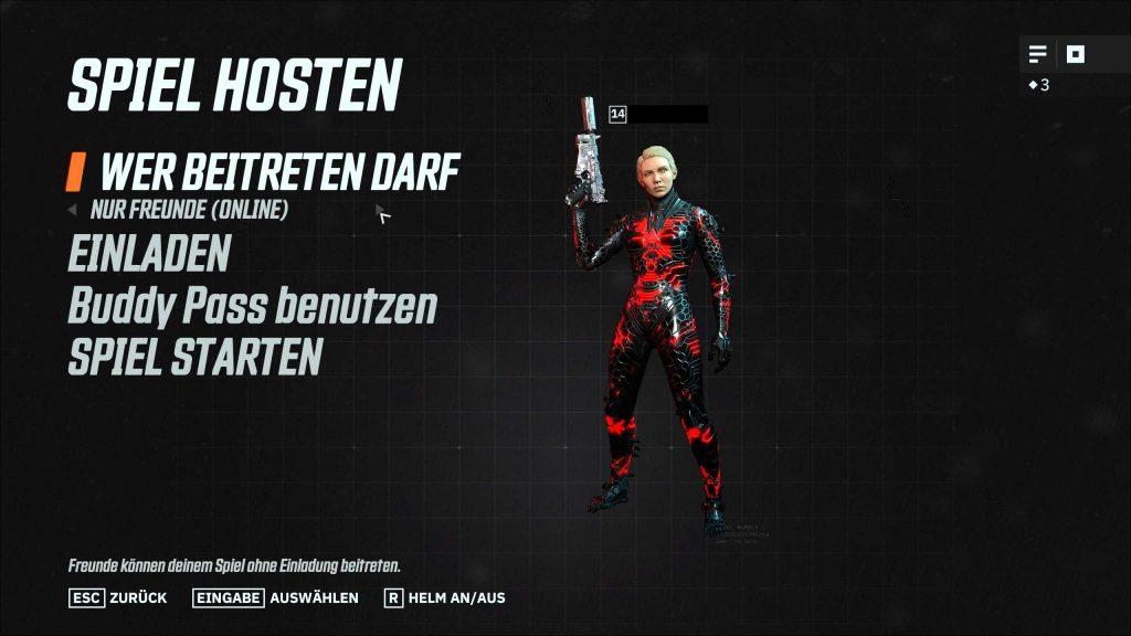 Wolfenstein Youngblood Spieler einladen