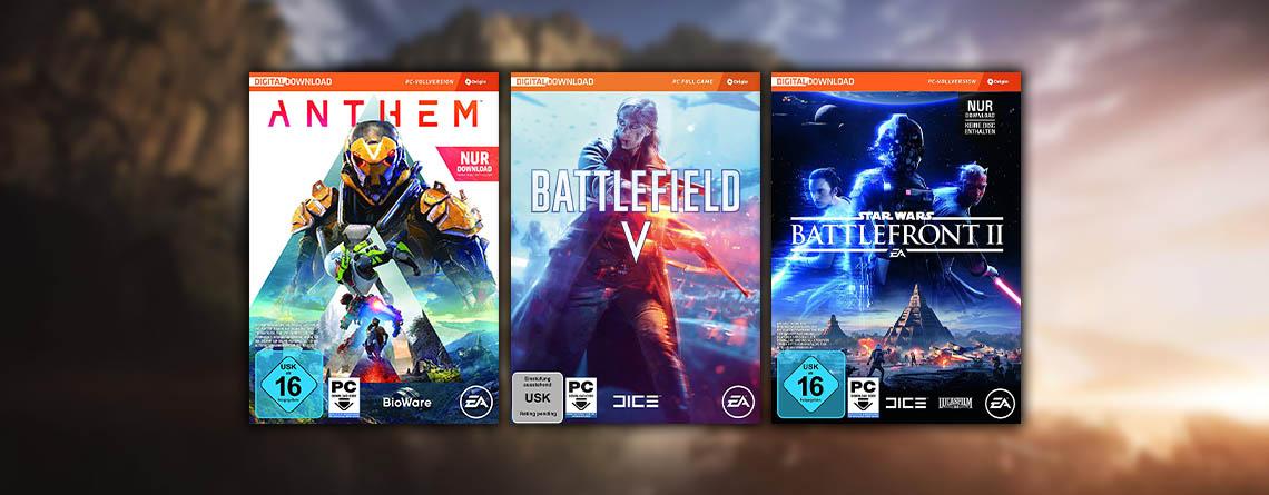 Amazon Angebote: EA Spiele wie Anthem und Battlefield 5 stark reduziert