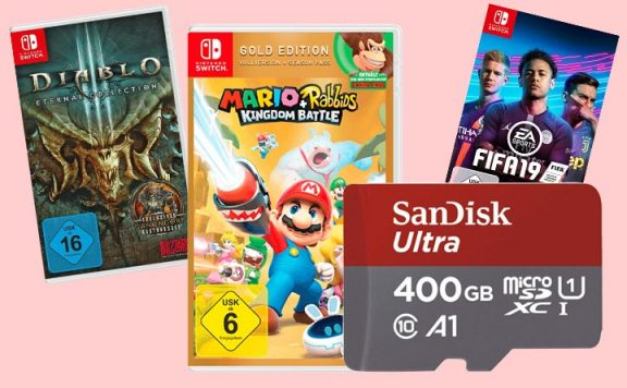 Amazon Prime Day Angebote Nintendo Switch