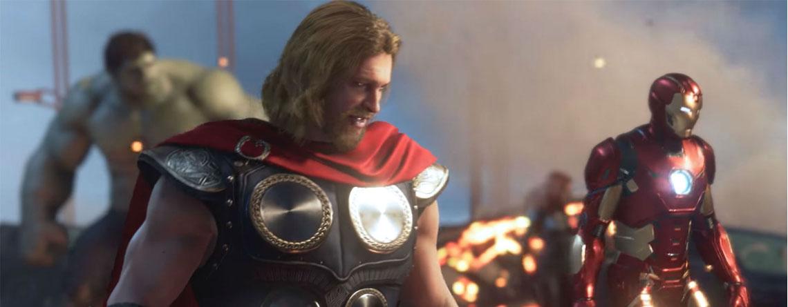 4 Dinge, die die geleakten Gameplay-Videos über Marvel's Avengers verraten