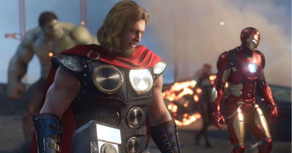 marvel's avengers leak video social header