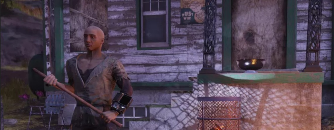 So reagiert die Community von Fallout 76 auf wen, der sich als Bettler ausgibt