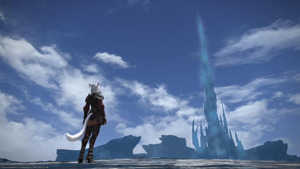 final fantasy xiv kristallturm cut scene