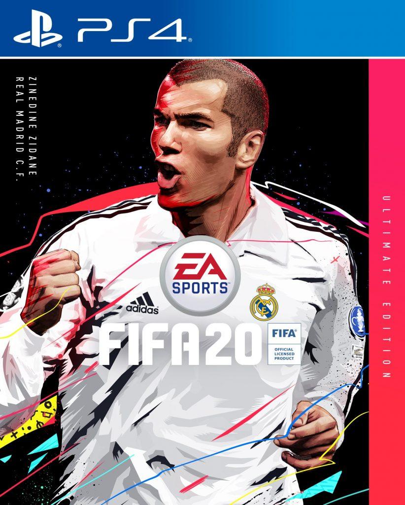 fifa 20 cover zidane