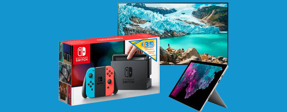 MediaMarkt Prospekt: Nintendo Switch für effektiv 270 Euro